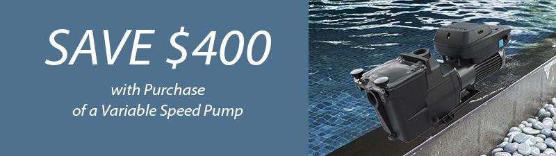 Save $400 on Hayward Pool Pump Installations