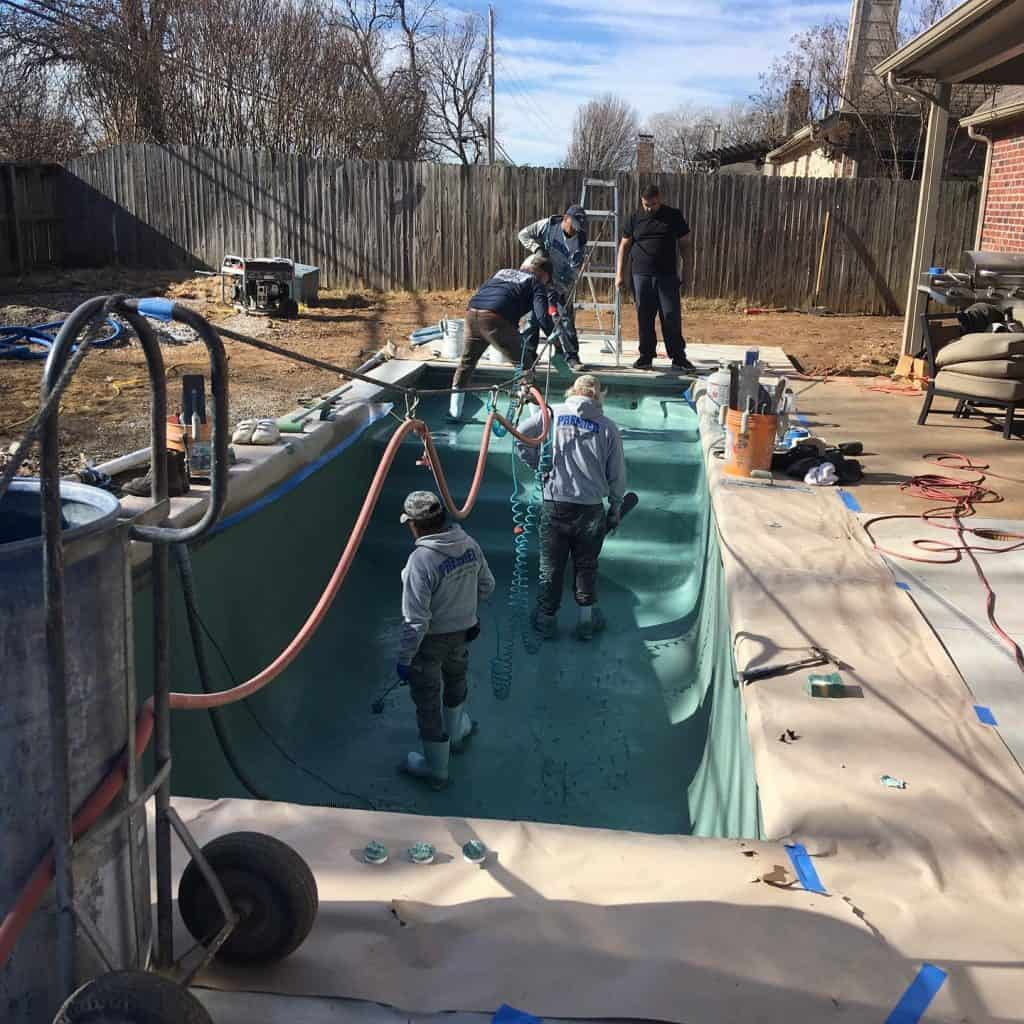 Swimming Pool Resurfacing Tulsa, OK