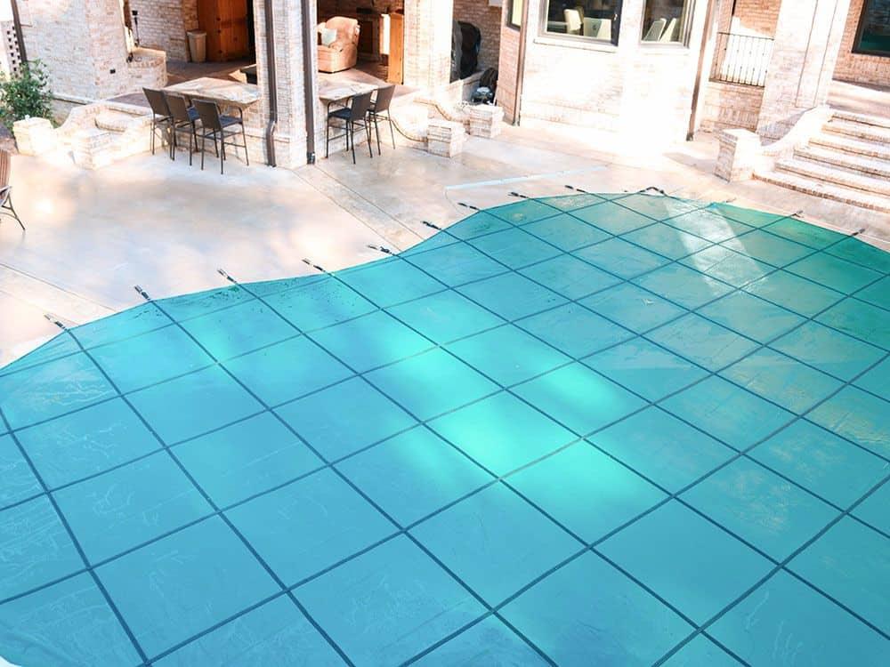 Mesh-Green-Pool cover