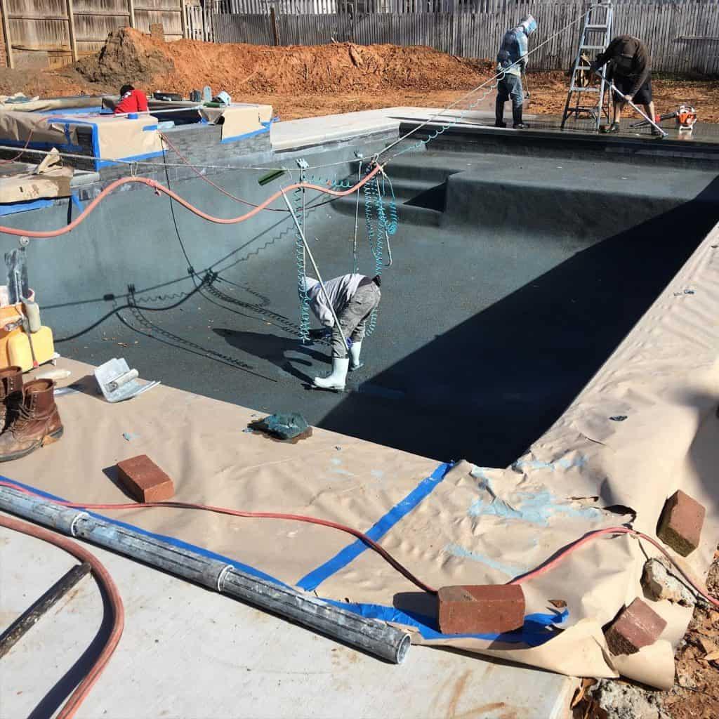 Pool resurfacing Tulsa Contractors