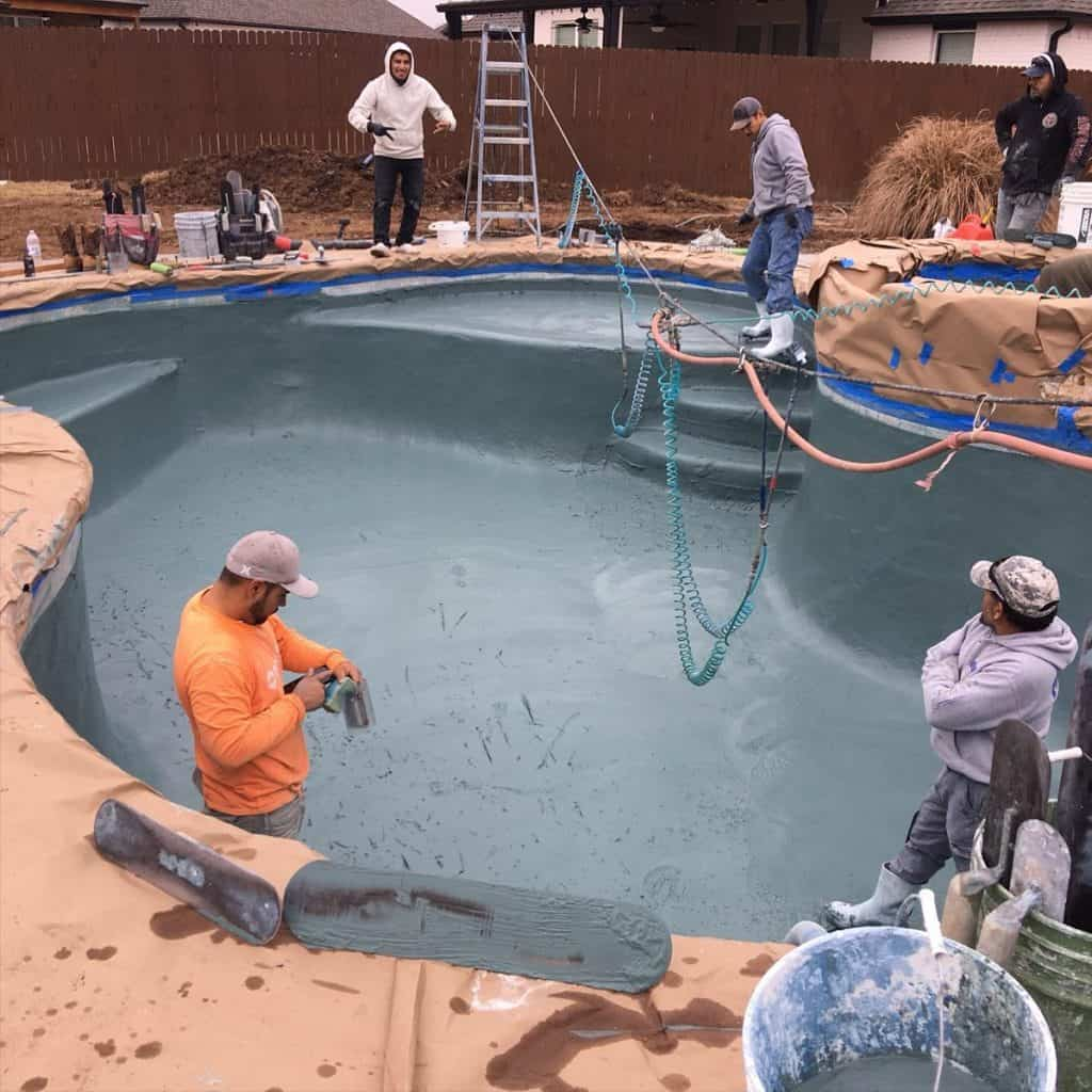 Pool Resurfacing Elite Pool Services Tulsa