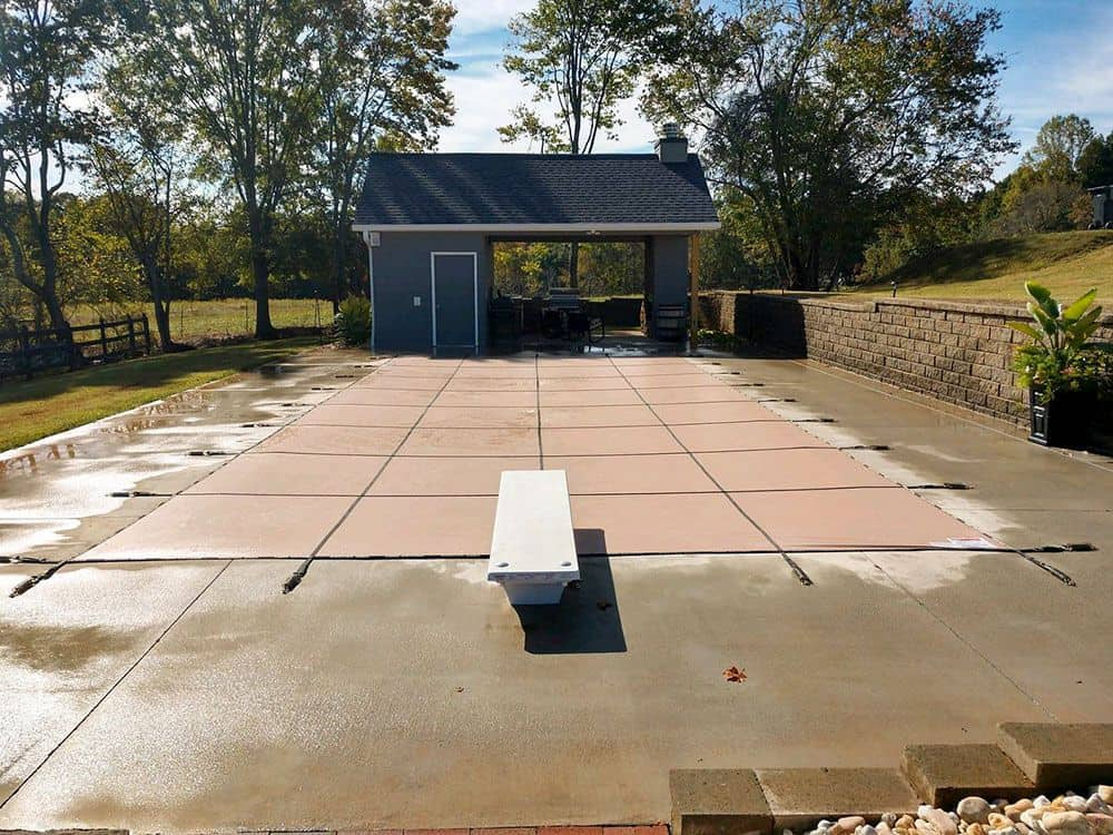 Pool-safety-cover-Solid-Tan-Tulsa-OK