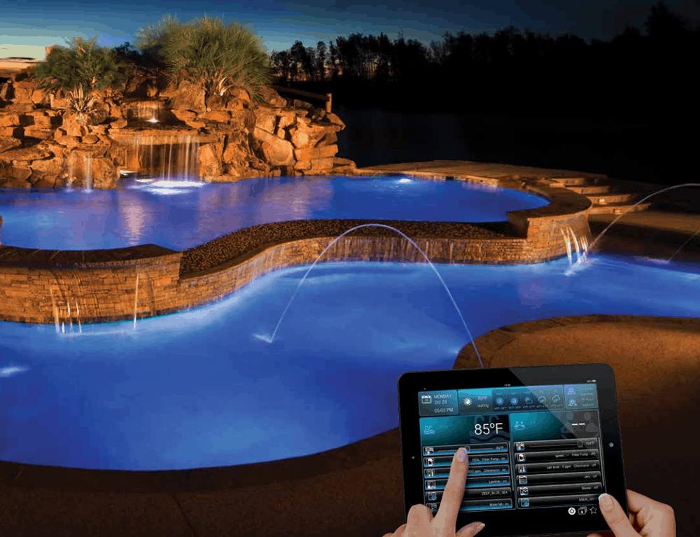 Hayward pool automation system